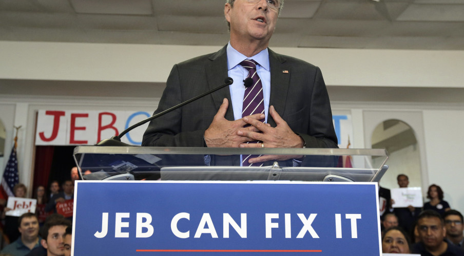 In the Jeb Bush Campaign Reset, Past Is Prologue