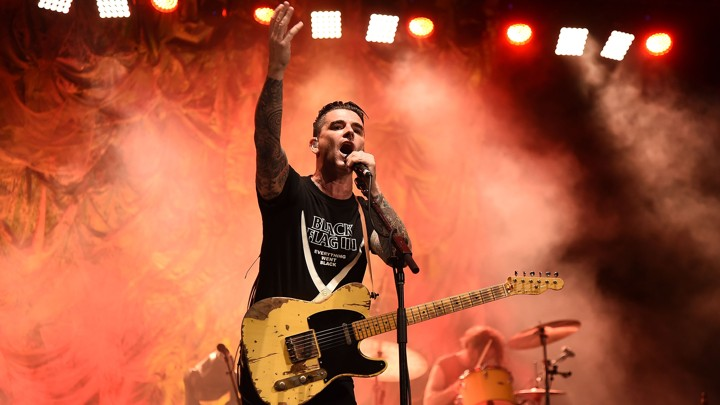 City Parks Foundation SummerStage Presents A Benefit Concert By Dashboard Confessional And The All-American Rejects